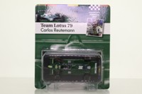 Sol90 11238; Lotus 79 Formula 1; 1979 Argentine GP 2nd; Carlos Reutemann; RN2