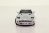 IXO; 2001 Aston Martin V12 Vanquish; Metallic Silver