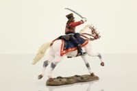 del Prado SNC041; Warrior Figure; Officer, French Hussars 1807