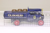 Models of Yesteryear Y-27/1; 1922 Foden Steam Wagon; Guinness With Barrels Load, Blue/Black/Red