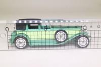 Models of Yesteryear Y-4/4; 1930 Duesenberg Model J Town Car; Metallic Green & Lime
