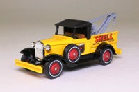 Models of Yesteryear Y-7/4; 1930 Ford Model A Breakdown Truck; Shell Service Station