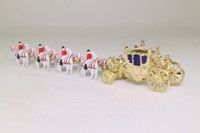 Models of Yesteryear YY66; Her Majesty's Gold State Coach; Gold Coach with Four Pairs of Horses