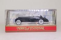 Models of Yesteryear Y-20/1; 1938 Mercedes-Benz 540k; Black, Silver Trim