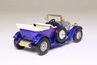 Models of Yesteryear Y-2/3; 1914 Prince Henry Vauxhall; Blue, Silver Bonnet, Cream Seats