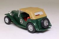 Models of Yesteryear Y-8/4; 1945 MG TC; British Racing Green, RN3