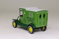 Models of Yesteryear Y-12/3; 1912 Ford Model T Van; 25 years of Models of Yesteryear; Green/Grey; fancy tampo rear doors