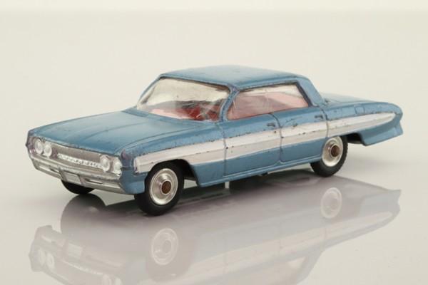 Corgi Toys 235; Oldsmobile Super 88; Steel Blue Metallic & White