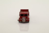 Matchbox/Lesney 20a; ERF Stake Truck; Maroon, Silver Trim, Metal Wheels