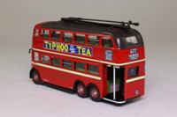 Corgi OOC OM43703; Q1 Trolleybus; London Transport; 677 West India Docks via Coswell Road & Dalston