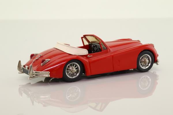 Small Wheels SW1; 1954 Jaguar XK140; Red, Convertible