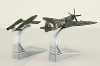 Corgi AA38703; Supermarine Spitfire; Mk.XIV; 610 Sqn, Sqn Leader R A Newbury, Sept 1944 with Fi 103 'Doodlebug' Flying Bomb