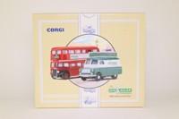 Corgi Classics 96995; Ian Allen Publishing 50th Anniversary Set; AEC RT Bus & Bedford CA Van
