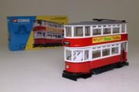 Corgi 36701; Double Deck Tram, Closed Top, Closed Platform; London Transport; Highbury via Westminster