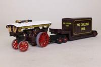 Trackside DG151000; Burrell Showmans Steam Locomotive; Low Loader, Pat Collins Fair, Box Load
