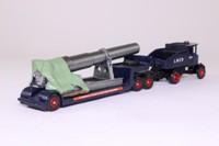 Trackside DG111002; Sentinel Steam Ballast Tractor; Low Loader, LNER, Gun Barrel Load