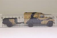 Corgi 07501; Land Rover Series 2 109; With Trailer; British Army
