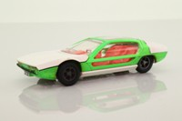 Dinky Toys 189; Lamborghini Marzal; Green/White, Cast hubs