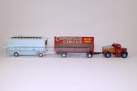Corgi 97885; Scammell Highwayman; Pole Trailer & Caravan; Chipperfield's Circus