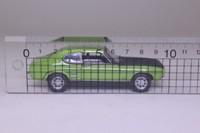 Cararama 25103; Ford Capri Mark 1; Lime, Black Bonnet