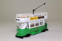 Corgi Classics C991/2; Double Deck Tram Open Top, Open Platform; Blackpool Corporation Tramways: Talbot Square via Marton