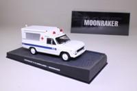 James Bond, Chevrolet C-10 Ambulance; Moonraker; Universal Hobbies 96