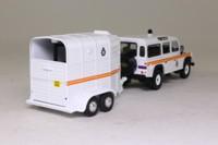 Vanguards VA09710; Land Rover 110 Defender; & Horsebox, Royal Parks Constabulary