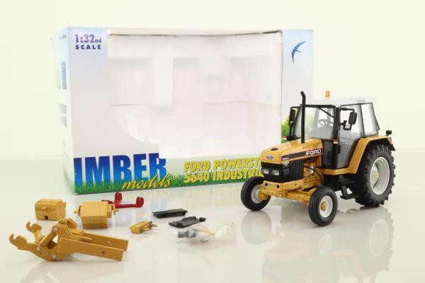 Imber IMB002; Ford Powerstar 5640 Tractor 2wd; Black & Yellow