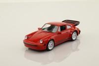 del Prado 24; 1975 Porsche 911 Turbo (930); Red, Black Trim