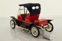 Franklin Mint B11SD30; 1911 Stanley Steamer; 62 Runabout, Red & Black