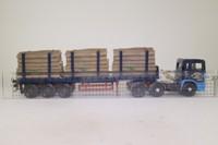 Corgi CC11905; ERF EC; Flatbed Trailer; Logs Load; Jos Millican, Penton, Ltd