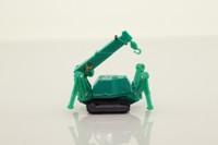Tomica 63; Maeda Seisakusho Mini Crawler Crane; Green