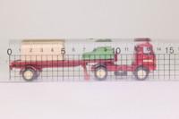 EFE 35002; AEC Mercury 4x2 Artic Single Axle Flatbed; Barton Transport; Sheeted Load