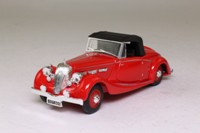 Dinky by Mastchbox DY-17; 1939 Triumph Dolomite; Red