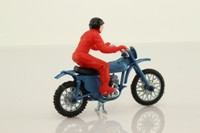Polistil MC420; Maico 250cc; Blue, Red Rider; RN17