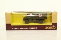 Solido 6038; Mercedes-Benz Unimog; Military Truck