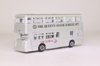 Dinky Toys 297; Leyland Atlantean City Bus; Queen's Silver Jubilee 1977, National