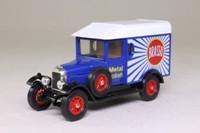 Models of Yesteryear Y-19/3; 1929 Morris Cowley Van; Brasso, Made in Macau
