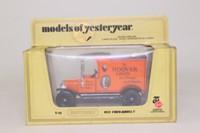 Models of Yesteryear Y-12/3; 1912 Ford Model T Van; Hoover: Orange/Black, Black Seats