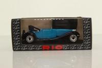 Rio 37; 1928 Bugatti Royale T41 Scoperta; Open Cabrio, Blue