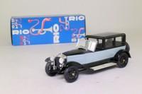 Rio 49; 1921 Fiat V12 Dorsay de Ville, Superfiat; Black & Grey