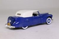 Rio 43; 1941 Lincoln Continental; Convertible, Blue, White Hood