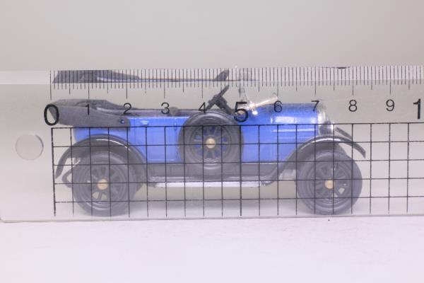 Rio #3; 1918 Fiat 501 Torpedo Sport; Open Top, Blue