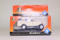Solido 9225; 1930 Citroen C4F; Pickup Truck; Expo '92 Sevilla