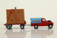 Corgi Toys GS19; Circus Land Rover and Elephant Trailer; Plastic Tilt On The Land Rover