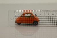 Corgi Toys 233; Heinkel/Trojan Bubble Car; Orange, Cast Hubs