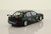 Scalextric C2329WAB; Vauxhall Vectra; Black, Vauxhall Logos, 98