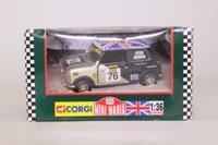 Corgi 04437; BL/Rover Mini; Mighty Minis: Stewart Jenner RN76