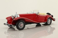 Franklin Mint; 1935 Mercedes-Benz 500K Special Roadster; Open Top, Red