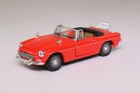 Cararama 25000; MGB; Open Roadster; Red